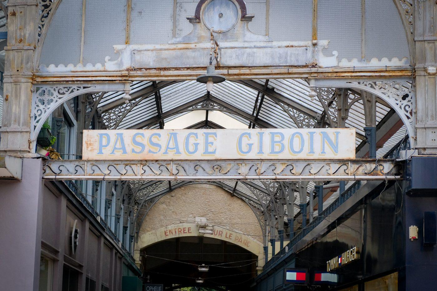 Le Passage Giboin - VICHY UNESCO