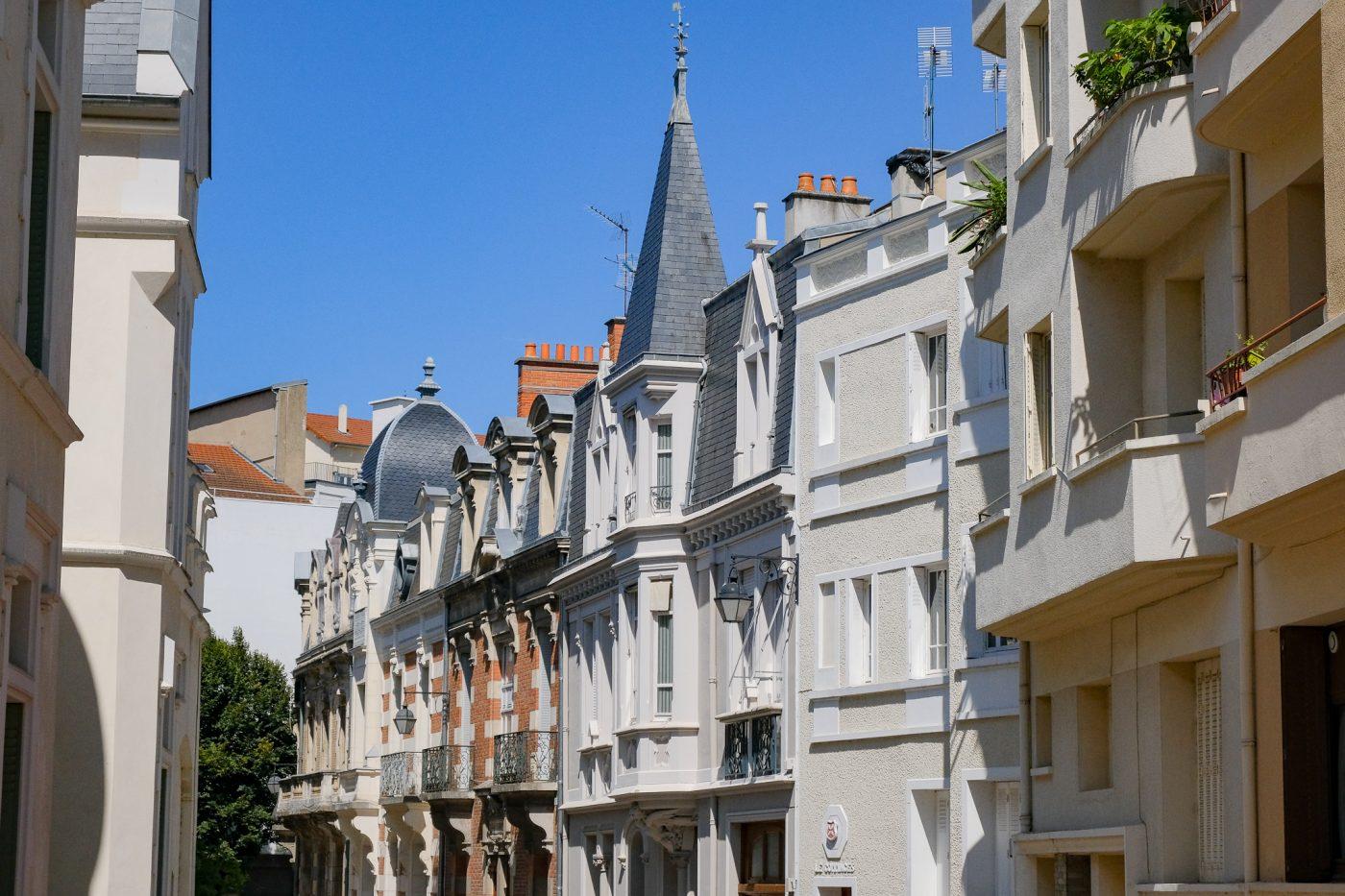 La Rue Hubert-Colombier - VICHY UNESCO
