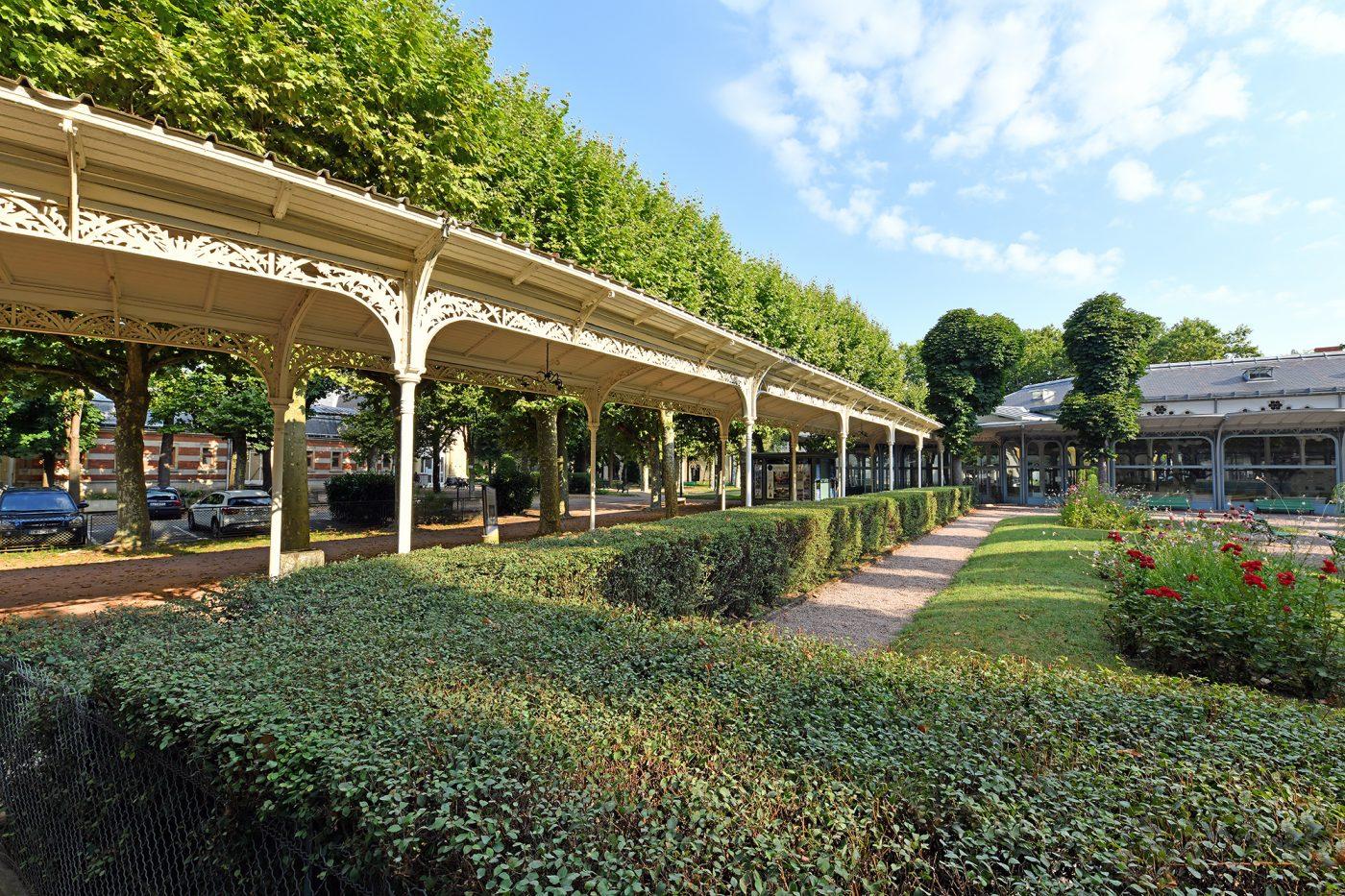 Galerie du Parc des sources - VICHY UNESCO